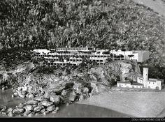TORRE VALENTINA, Costa Brava, 1959. FACHADA