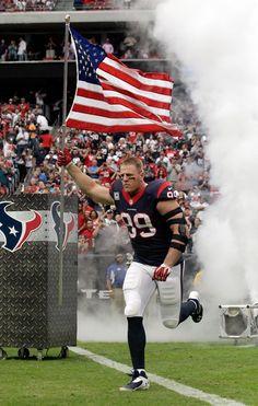 Houston Texans DE J. Watt has been named the 2015 Associated Press NFL Defensive Player of the Year. Nfl Sports, Sport Football, Football Fans, Houston Texans Football, Dallas Cowboys, Pittsburgh Steelers, Derek Watt, James Watt, Jj Watt