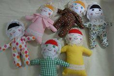 Os bonecos que faço