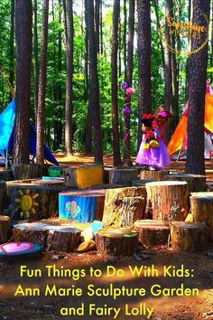 Spend an Enchanting Day at the Annmarie Sculpture Garden - Sunshine Whispers