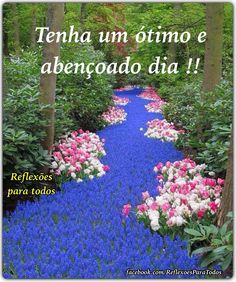 "Bom dia!  Acesse: ""Cada manhã traz uma benção escondida!"" (Paulo Coelho) Peace Love And Understanding, Smiley Emoji, Peace And Love, Good Morning, Lily, Landscape, Face, Outdoor Decor, Nature"
