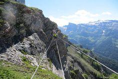 Gemmi.ch - Top of Leukerbad, Berghotel Wildstrubel - Gemmibahnen Leukerbad Wallis: Klettersteig Gemmiwand