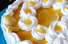 Gateau à la crème au citron