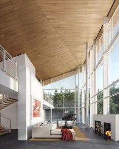 Gallery of Richard Meier & Partners Designs Two Villas for Ground-Up Modern Community in Czech Republic - 4