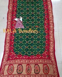 Bandhani Saree, Silk Sarees, Embroidery Saree, Hand Embroidery, Japanese Yen, End Of Season Sale, Bohemian Rug, Delicate, Pure Products