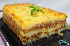 Milhojas de patata y carne Ana Sevilla cocina tradicional