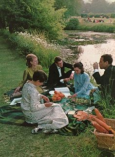 Glyndebourne Opera Festival in Sussex, 1969