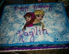 Disney Frozen Sheet Cake Walmart Disney S Frozen Image