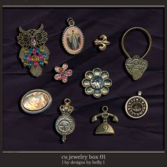 CU Jewelry Box :: COMMERCIAL USE :: Memory Scraps