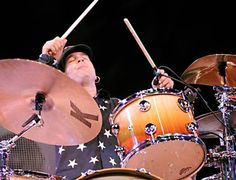 Shawn Pelton. He's been holding down the SNL drum chair since 1992. Great, loose limbed soulful grooves every time.