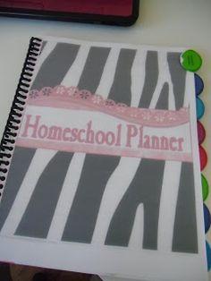 Winecup Christian Homeschool: My Custom Planner