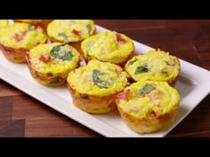 Baking Breakfast Cauliflower Muffins Video — Breakfast Cauliflower Muffins Recipe How To Video