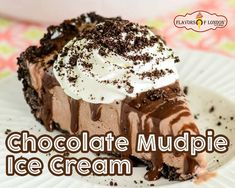 Chocolate Mudpie Ice Cream is one of the signature Ice Cream at the ice cream parlor in Delhi. It is an ice cream dessert with chocolate that is so delicious! Famous Ice Cream, Best Ice Cream, London Chocolate, Mudpie, Ice Cream Parlor, Ice Cream Desserts, Breakfast, Food, Breakfast Cafe
