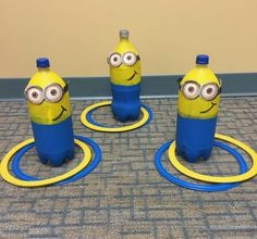 Whether your little Minion is turning terrible two or despicable three, they\'ll love getting into some mischief at a Des Minion Party Games, Minion Party Theme, Despicable Me Party, Boy Party Games, Minions Birthday Theme, Birthday Party Games For Kids, Adult Birthday Party, Women Birthday, Minon Birthday Party Ideas