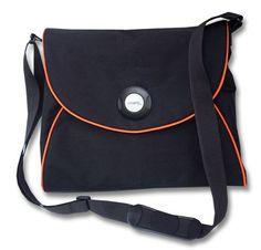 große Tasche mit Magnetverschluss, laptopfach, Platz fuer Ordner nähen