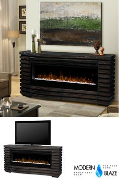 179 best modern electric fireplaces images contemporary electric rh pinterest com