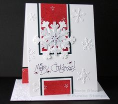 August Snowflakes by Rox71 - Cards and Paper Crafts at Splitcoaststampers