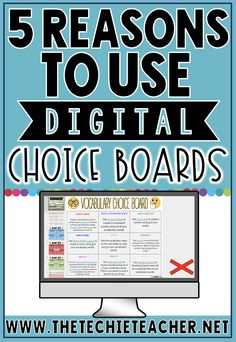 Digital Choice Boards are a great way to differentiate learning while engaging students in meaningful, paperless activities. Teaching Technology, Educational Technology, Teaching Resources, Instructional Technology, Instructional Strategies, Educational Assistant, Google Classroom, Google Docs, Application Utile