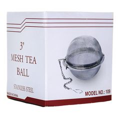 Stainless Steel Mesh Tea Ball 3, 1 Unit AED118.00 #UAESupplements