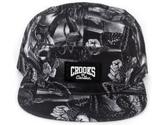 Matsumoto 5 Panel Cap by CROOKS & CASTLES