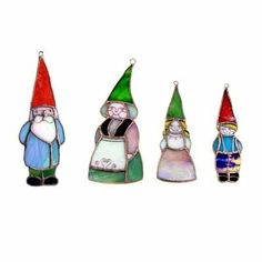 I want this stained glass gnome family SO VERY BADLY.