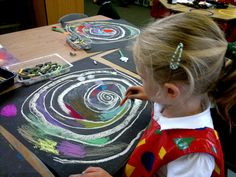 Making the spirals their own Eyfs Activities, Space Activities, Minibeast Art, Minibeasts Eyfs, Snail And The Whale, Snail Craft, Reception Class, Creative Area, Drawing Projects