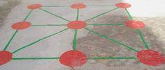 Resultado de imagen de dibujo tres en raya pintado patio colegio