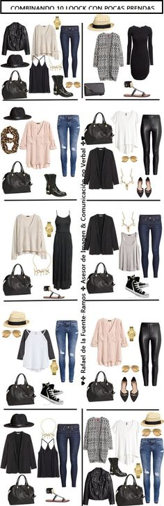 10 Day Packing List From Day to Night 2019 10 Day Packing List 20 pieces in a carry-on for Day wear built from my Capsule wardrobe. The post 10 Day Packing List From Day to Night 2019 appeared first on Bag Diy. Fashion Mode, Look Fashion, Autumn Fashion, Fashion Outfits, Womens Fashion, Fashion Tips, Fashion Trends, Street Fashion, Latest Fashion