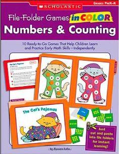 Amazon.com: Colorful File Folder Games, Grade K: Skill-Building Center Activities for Language Arts and Math (Colorful Game Books) (0044222158279): Debra Olson Pressnall: Books