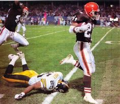Cleveland Browns - Eric Metcalf making the Steelers look silly