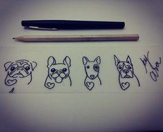 Desenhos feitos para virar tattoo .... By @araninchaves em @bushidotattoobr…