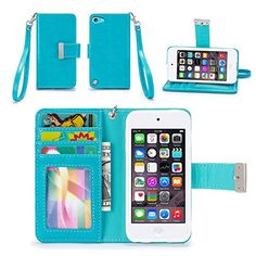 iPod Touch 5th / 6th Generation Case, IZENGATE [Classic Series] Wallet Case Premium PU Leather Flip Cover Folio with Stand for Apple iPod Touch 5th & 6th Generation (Turquoise Blue) IZENGATE http://www.amazon.com/dp/B015S4TS50/ref=cm_sw_r_pi_dp_3o7rwb02RDGER