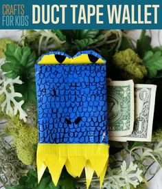 How To Make A Duct Tape Wallet DIY Crafts For Kids | DIY Ready's Ingeniously Easy DIY Projects To Entertain Kids
