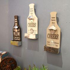 Wandflaschenöffner mit Auffangbehälter Flaschenöffner Bieröffner Deckel Öffner | eBay
