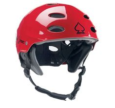Protect Ace Wake Red Helmet