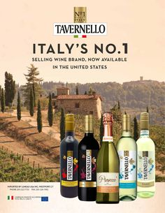 #italianwines Tavernello is the top selling wine ion Italy. Contact LuneauUSA.com for more details.