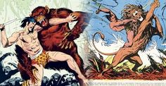 Tarzan - desenho de Burne Hogarth - imagem 1