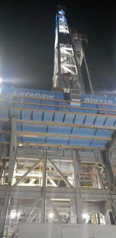 Latshaw rig 16 fresh out the yard Oilfield Trash, Drilling Rig, Rigs, Black Gold, Yard, Club, Fresh, Metal, Metals