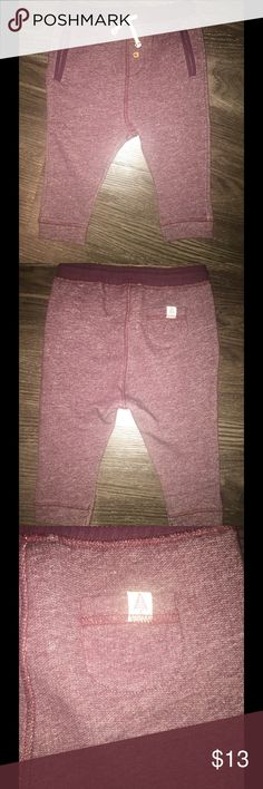 Zara Trousers Burgundy Zara Trousers. Size: 12-18. 100% Cotton. BRAND NEW!! Zara Bottoms Sweatpants & Joggers
