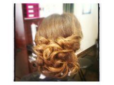 Bridal  Hair updo #bride #bridesmaid