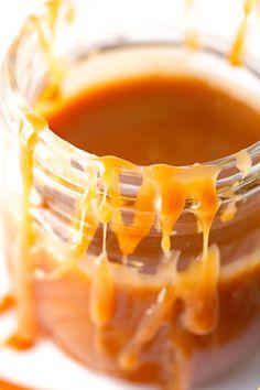 Salted Caramel Sauce via Deliciously Yum!