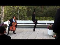 "Yo-Yo Ma and L.A. street dancer Lil Buck perform Saint-Saëns' ""The Swan"""