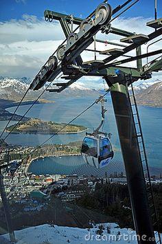 Skyline Gondola, Queenstown, New Zealand by Nigel Spiers.