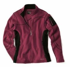 """Sherpa Nyano Women's Jacket by Sherpa. $68.00. Welded zip arm pocket secures essentials. Princess seaming refines and shapes the fit. Hand-warmer pockets zip shut. A streamlined, curve-enhancing fleece jacket with a little something special: a seamline """"wave"""" flows up one arm, across the chest and back yoke, then down the other arm. The soft fleece is breathable, light in weight, and just the right warmth for throwing on (alone or under a shell) when the sun sets down. ..."""