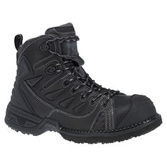 0934d80e7dfe Harley-Davidson footwear men s Foxfield all black hiker boot with leather  and mesh upper