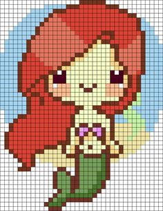 MINECRAFT PIXEL ART – One of the most convenient methods to obtain your imaginative juices flowing in Minecraft is pixel art. Pixel art makes use of various blocks in Minecraft to develop pic… Hama Beads Design, Hama Beads Patterns, Beading Patterns, Kandi Patterns, Crochet Patterns, Beaded Cross Stitch, Cross Stitch Embroidery, Cross Stitch Patterns, Mermaid Cross Stitch