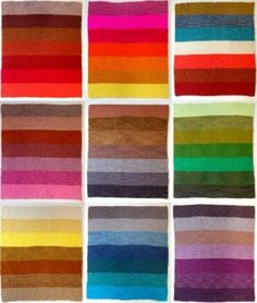 These colors are reminiscent of colors I think would work well in the play. Vibrant colors for the corsets made of different fabrics.