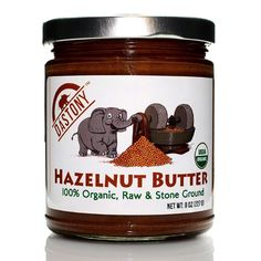 Dastony - Stone Ground Nut & Seed Butters: 01/8 oz Jar of Organic Hazelnut 100% - http://goodvibeorganics.com/dastony-stone-ground-nut-seed-butters-018-oz-jar-of-organic-hazelnut-100/