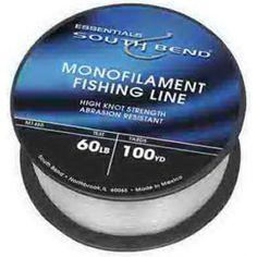 South Bend Monofilament Line-4LB 1125YD Mono Line, Multicolor #fishingline
