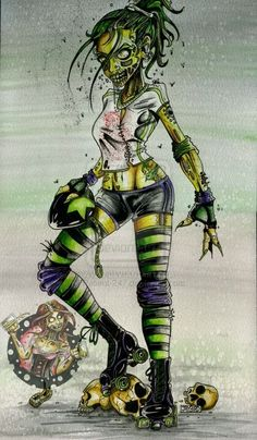 This is bad ass! I miss roller derby :(